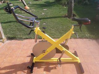 Bicicleta de spinning life fitness