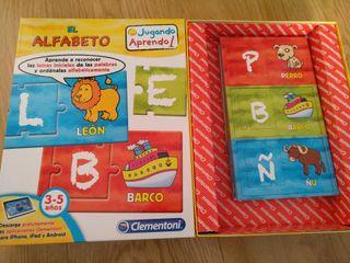 puzzle Afabeto Educa
