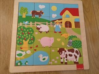 puzzle madera 1-2 años