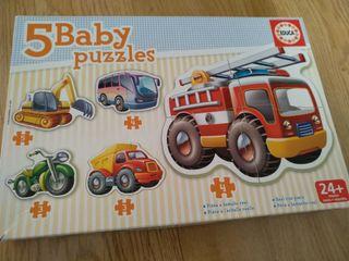 puzzle vehiculos Educa