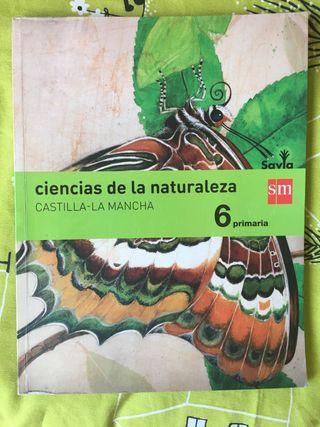 Libro ciencias de la naturaleza 6 primaria sm