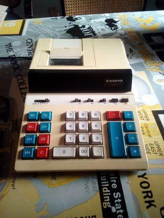 Calculadora con ticket eléctrica