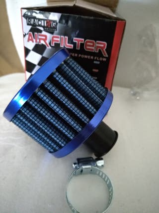 Filtro depresor de 12mm café racer