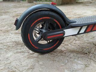 kit vinilo reflectante ruedas llanta Xiaomi m365