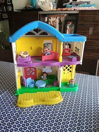 casa muñecas little people Fisher-price. con sonid