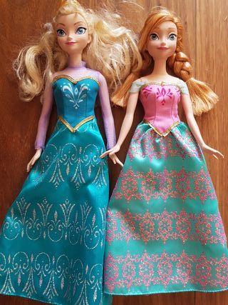 muñecas princesas Elsa y Anna frozen + REGALO