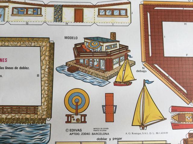 Recortable edivas construcciones n. 523 club nauti