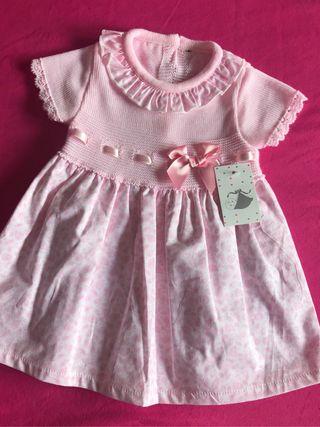 Vestido bebé NUEVO CON ETIQUETA
