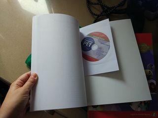 Libros Inglés Cambrige con sus CD's