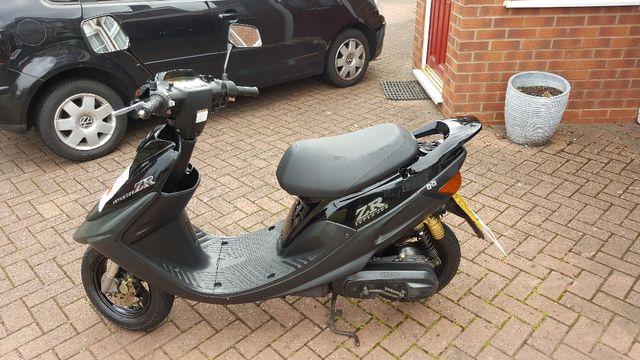 yamaha super jog zr 50cc moped