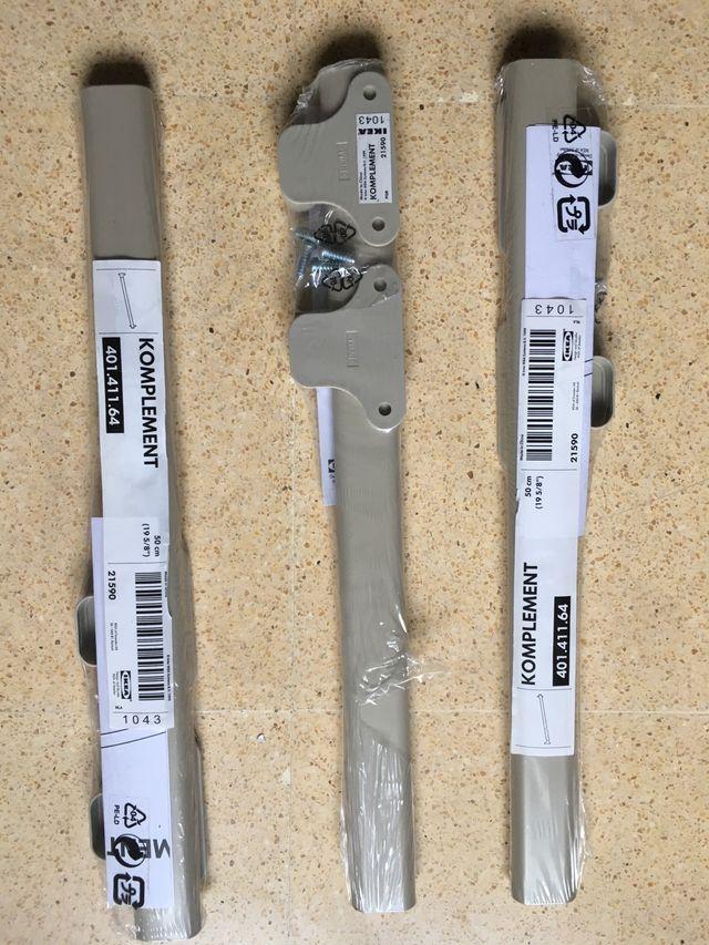 3 Barras armario Ikea Komplement