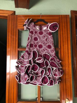 Vestido flamenca.