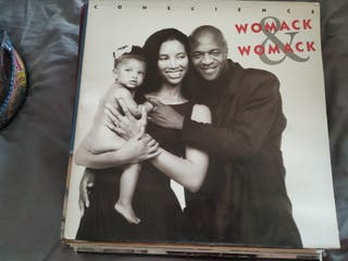 Disco vinilo lp WOMACK AND WOMACK Conscience