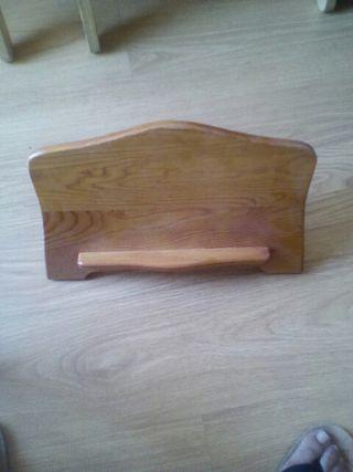 Atril Expositor para libros madera de pino