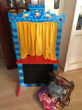 Teatro con marionetas y peluches