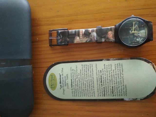 Reloj cuadro Las Meninas de Velazquez