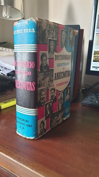 Diccionario Ilustrado de Anécdotas. Gustavo Gili.