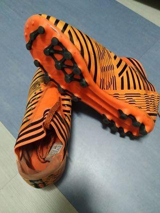 Botas fútbol Adidas del número 36 2/3