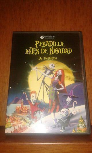 PESADILLA ANTES DE NAVIDAD DVD