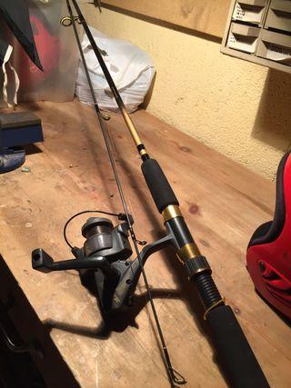 Caña de pescar de río