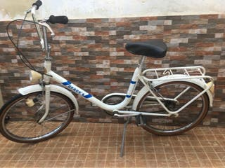 Bicicleta Geace blanca completa
