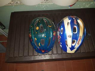 cascos infantiles de bicicleta
