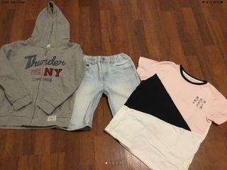 Conjunto de ropa niño talla 9-10