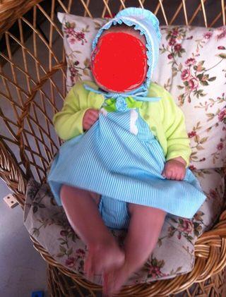 Vestido niña 3-6 meses