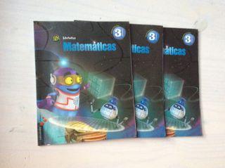 Libros 3 primaria MATEMÁTICAS