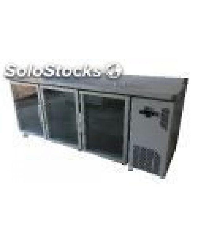 Frente mostrador de refrigeracion
