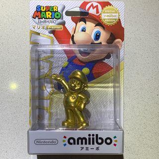 Amiibo Mario Gold Edición Japonesa