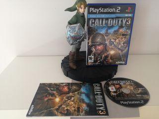 Call of Duty 3 como nuevo PS2