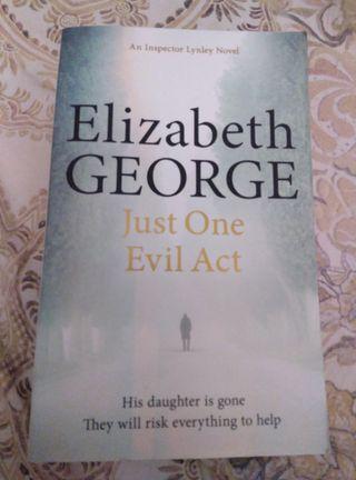 libro Just one evil act de Elizabeth George