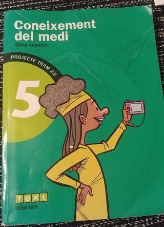 Libro Coneixement del medi 5° ISBN 9788441222038
