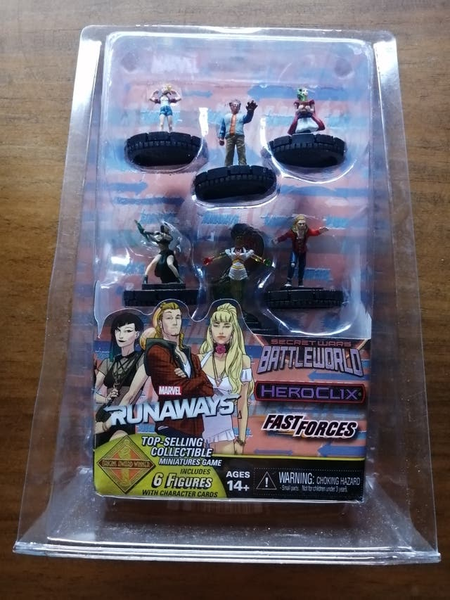 Fast Forces Runaways Marvel Heroclix