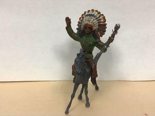 Figura jefe indio comansi