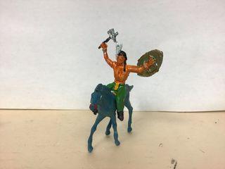 Figura indio a caballo