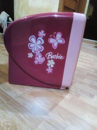 televisión pequeña barbie CD incorporado
