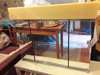 Mueble espejo baño vintage