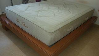 Cama somier y colchon 150x190
