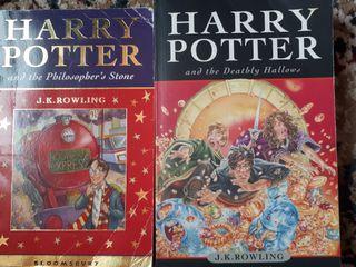 libros en ingles de Harry Potter