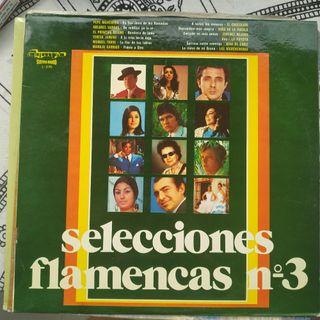 Disco vinilo Selecciones flamencas n°3