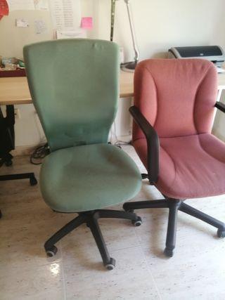 sillas para escritorio regulable y cómodas