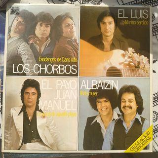 Disco vinilo de varios artistas flamencos