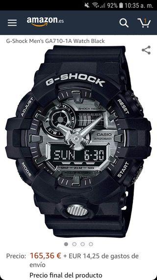Vendo reloj Casio G-Shock como nuevo
