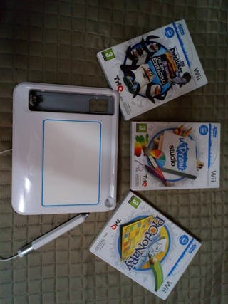 uDraw GameTablet + 3 juegos