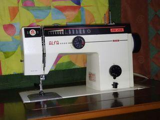 Maquina de coser Alfa Zig-Zag mod 3249