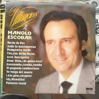 Disco vinilo Manolo Escobar Villancicos 2
