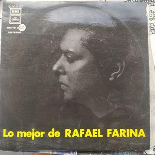 Disco vinilo Rafael Farina