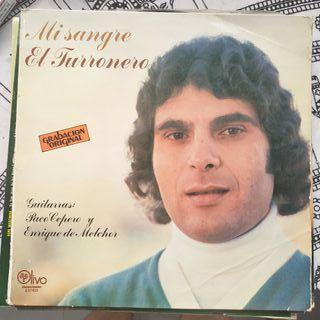 """Disco vinilo de El Turronero """"Mi Sangre"""""""